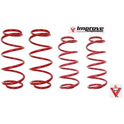 HONDA STREAM RSZ RN6 2007 - 2015 IMP IMPROVE Lowered Comfort Sport Spring