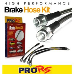 (Most Cars Model) PRO-RS Front & Rear Stainless Steel Braided Brake Hose