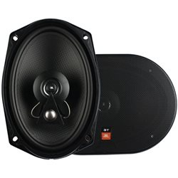 "JBL GTO-963 6""X9"" 3-Way 175W RMS Carbon Compound Mid Bass Speaker"