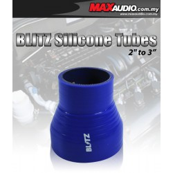 """BLITZ 2"""" To 3"""" 3 Layer Racing Silicone Straight Reducer Tubes"""