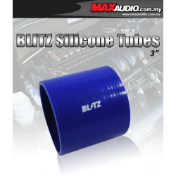 """BLITZ 3.25"""" Inch 3 Layer Racing Silicone Straight Coupler Tubes"""
