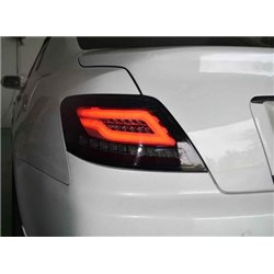 TOYOTA MARK X/ REIZ 2004 - 2009 EAGLE EYES Full Smoke BRAGA Light Bar LED Tail Lamp