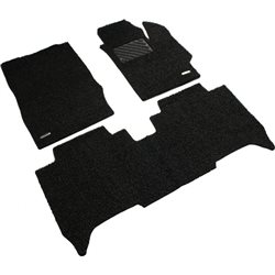 TOYOTA VIOS 2013 - 2017 Custom Made Full Sets OEM Coil Mat Carpet (Black)