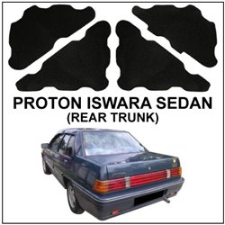 PROTON WIRA SEDAN, ISWARA, SAGA 1989 SEDAN, WAJA: CARFIT Rear Trunk/ Boot Deadening Sound Proof
