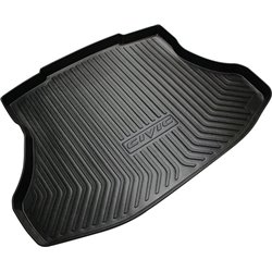HONDA CIVIC FB 2012 - 2015 ORIGINAL ABS Rubber Anti Non Slip Rear Trunk Boot Cargo Tray Made in Japan