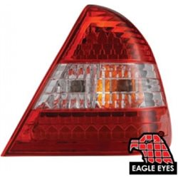 MERCEDES BENZ W202 C-Class 1994 - 1999 EAGLE EYES Red/ Clear/ Red LED Tail Lamp [TL-010-BENZ]