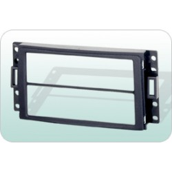 GM 2005-2008 H3 HUMAN Double or Single Din Casing Panel [BN-25K382]