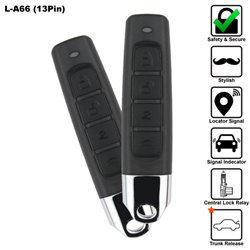 SKY 13 Pin 4-Button Multi Function Car Alarm System Made in Korea [L-A66-13PIN]