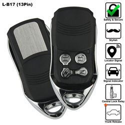 SKY 13 Pin 4-Button Multi Function Car Alarm System Made in Korea [L-B17-13PIN]