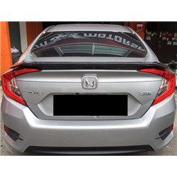 HONDA CIVIC FC 2016 - 2017 T-Concept Light Weight Real Carbon Fiber Rear Trunk Spoiler