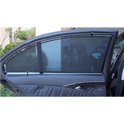 (MOST CARS) SMART SHADE UV Proof & Heat Proof Custom Fit OEM Car Door Window Clip On Sun Shades/ Sunshades