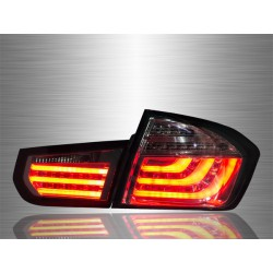 BMW F30 3-SERIES 2011 - 2017 Full Smoke LED Light Bar Tail Lamp Light [TL-036-BMW]