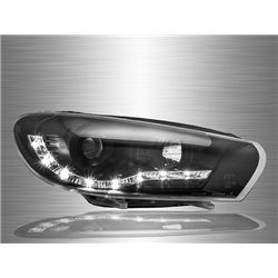 VOLKSWAGEN SCIROCCO 3rd Gen 2008 - 2017 LED Starline Projector Head Lamp [HL-162]