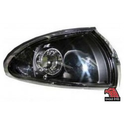 EAGLE EYES PROTON WIRA '93-'06 BLACK CRYSTAL CORNER LAMP[CL-008-1]