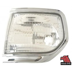 EAGLE EYES TOYOTA LAND-CRUISER '90-'94 CHROME CRYSTAL CORNER LAMP[CL-006]