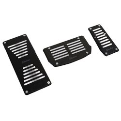 SHENHAO 3 Pcs High Quality Aluminum Auto Transmission Pedal Kit with Foot Rest Made in Korea [0888]