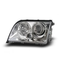 EAGLE EYES MERCEDES-BENZ W140 '94 - '98 Chrome Projector Headlamp + Corner Lamp [HL-011-BENZ]
